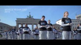 Action in Berlin for World Vegan Day