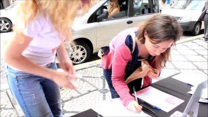 Cruelty Free International in Lisbon