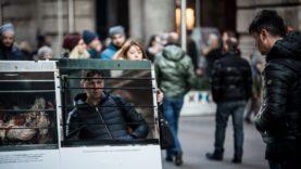 Un invito a riflettere – flashmob a Milano