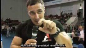 Alexey Voyevoda parla della sua Alimentazione Vegan
