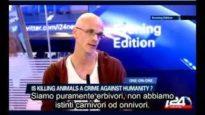 Attivista Vegan DISTRUGGE una reporter ignorante