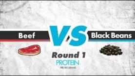 Beef vs. Black Beans