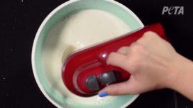 How to Make Aquafaba Whipped Cream in 2 Steps