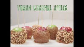 Vegan Caramel Apples!