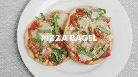 Vegan Pizza Bagel