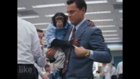 Chimpanzee Used in 'Wolf of Wall Street' Perform Ridiculous Stunts for Cheap Laughs