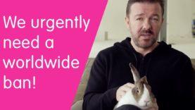 Ricky Gervais wants a worldwide ban