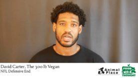 David Carter The 300 Pound Vegan Endorses Campaign