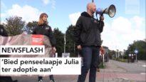 NEWSFLASH: Bied penseelaapje Julia ter adoptie aan