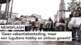 NEWSFLASH: Geen vakantiebesteding, maar  een lugubere hobby en zinloos geweld