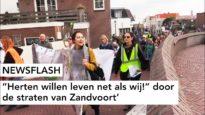 """NEWSFLASH: """"Herten willen leven net als wij!"""" door de straten van Zandvoort"""