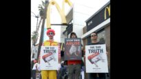 Protesters Ask McDonald's to End Cruelty to Chickens