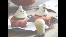 Ricette vegan: Fantasmini cupcakes con zucca e cannella