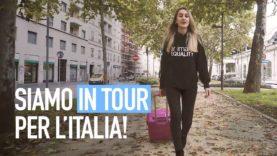 Siamo in tour per l'Italia!
