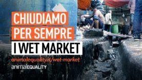 Chiudiamo per sempre i wet market