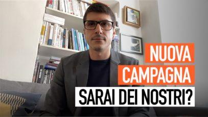Domani: lancio di una nuova campagna internazionale!
