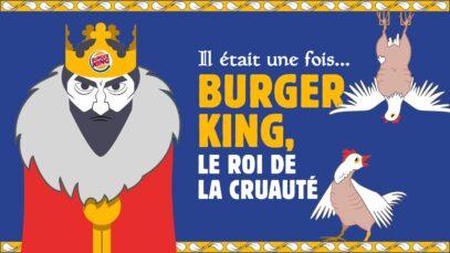 BURGER KING : Il était une fois un roi cruel