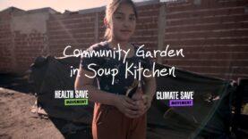 Community Garden In soup Kitchen – Vegan activism